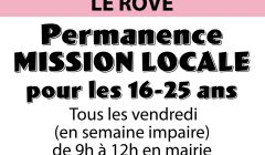 AFFICHE permanence mission locale 2017