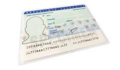 carte nationale d'identité, carte, identité, pièces justificatives détourées et isolées sur fond blanc